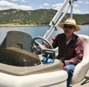 Boating in Colorado Mountains