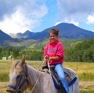 Horseback Riding Westcliffe